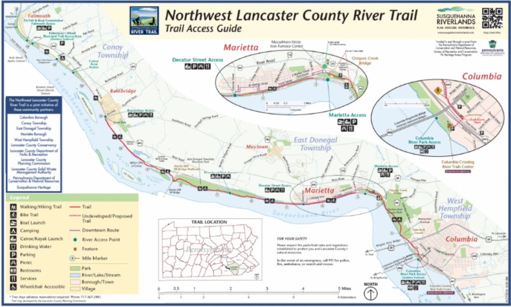 northwest river trail map